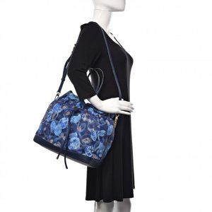 Louis Vuitton Ikat Noefull MM Grand Bleu